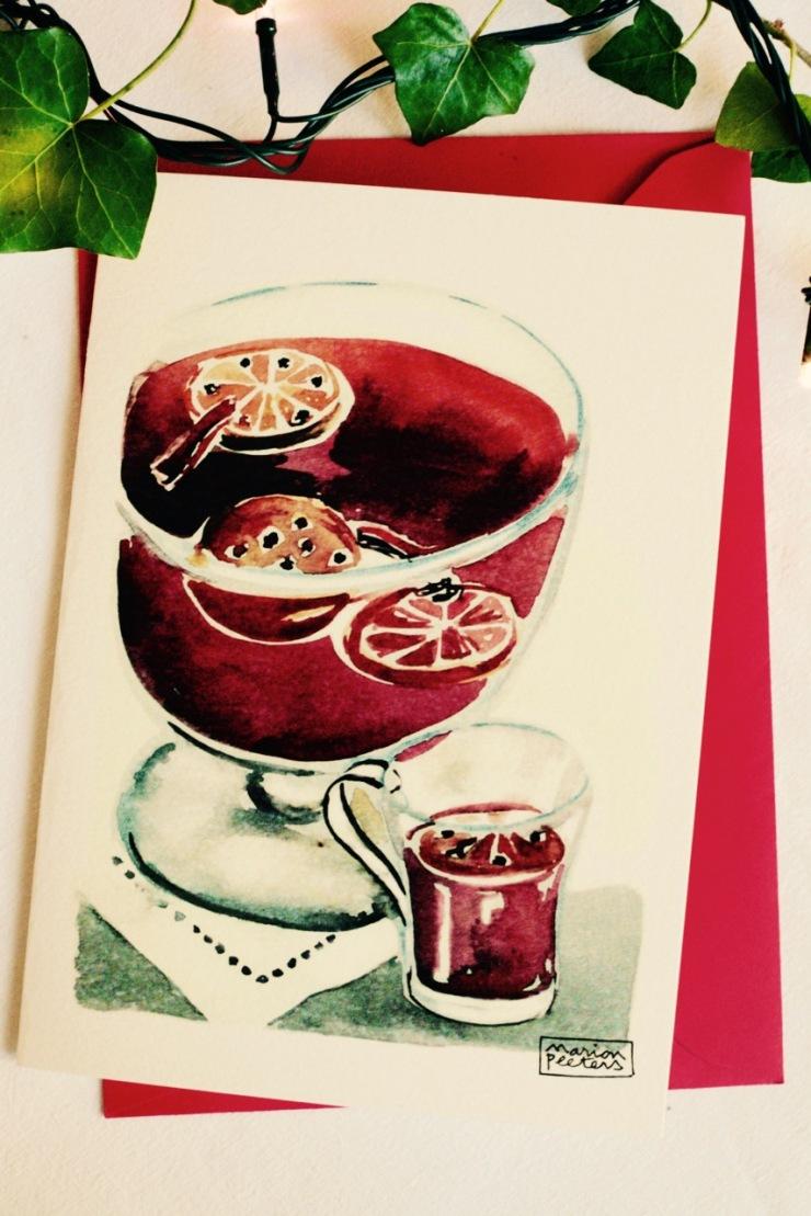 6#illustrationmarionpeeters #cartesaquarelle#recettes#vincannelle