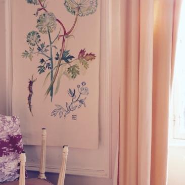 « angélique » 70x150 cm – toile de coton épaisse – 150€