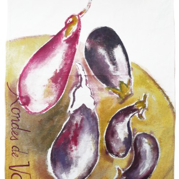 aubergines ronde valence