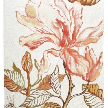 « magnolia 2 » 70x150 cm – toile de coton épaisse – 150€